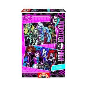 """Educa gyerek Puzzle 2x100db - Monster High 30476980 A Pepitán ezt is megtalálod: """"monster high"""" 2 kategóriában"""