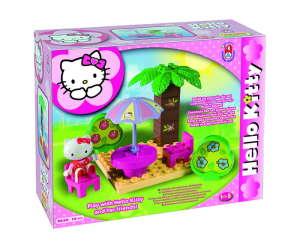 Hello Kitty piknikezik Építőjáték 14db 30477576 Fa építőjáték