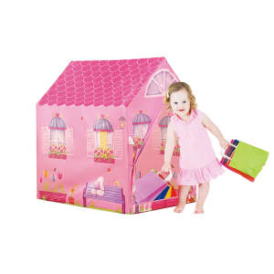 Lányos házikó gyermek Játszósátor 30476086 Sátor