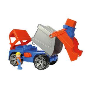 Lena Játék kukásautó figurával 30477677 Munkagép gyerekeknek