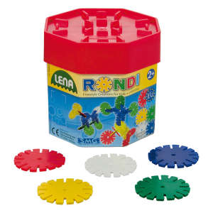 Lena korong műanyag Építőjáték 55db 30223157 Műanyag építőjáték