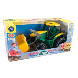 Lena Nagy markolós Traktor dobozban 30477422 Munkagép gyerekeknek