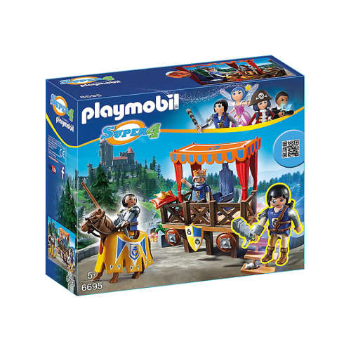 Playmobil 6695 - Alex a királyi emelvényen