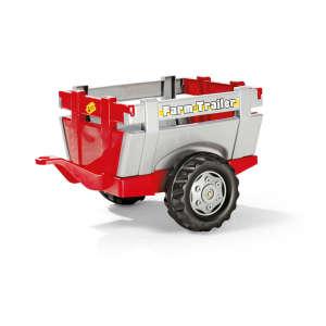 Rolly Farm Trailer Utánfutó #szürke, piros 31469923 Pedálos jármű