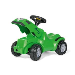 Rolly Minitrac Deutz-Fahr Agrokid lábbal hajtós mini Traktor #zöld 30478070 Bébitaxi, kismotor
