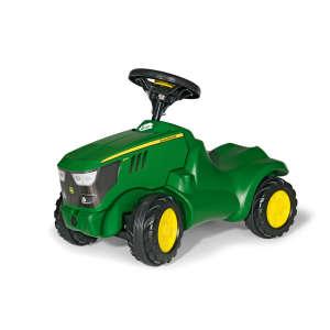 Rolly Minitrac John Deere 6150 R lábbal hajtós mini Traktor #zöld