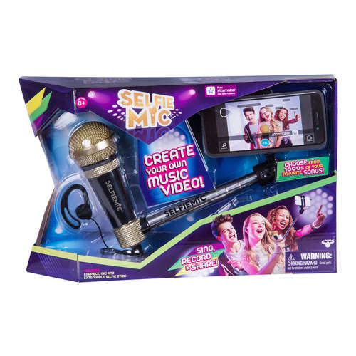 Selfie mic #Mikrofon szelfi bottal #fekete