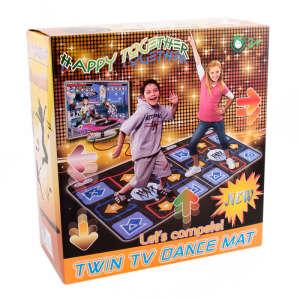 TV-re csatlakoztatható iker táncszőnyeg 31470747 Táncszőnyeg
