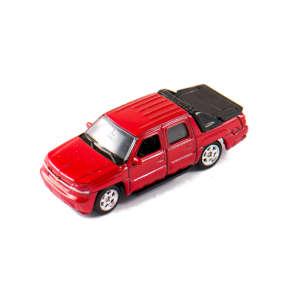 Welly Chevrolet Avalanche 2002 #bordó kisautó 1:60-64 30478322 Autós játékok, autó, jármű