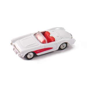 Welly Chevrolet Corvette 1957 #fehér kisautó 1:60-64 30477591 Autós játékok, autó, jármű