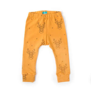 Funkidz Mustár szarvas Leggings 92 30229085 Gyerek nadrág, leggings