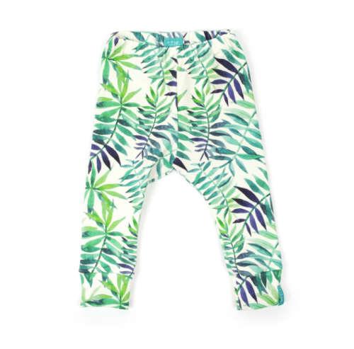 Zöld erdő leggings 68