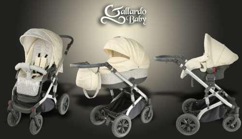 Gallardo Baby Premium #törtfehér #mintás