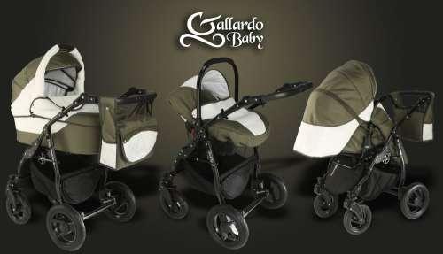 Gallardo Baby Black Lux #olivazöld #krém