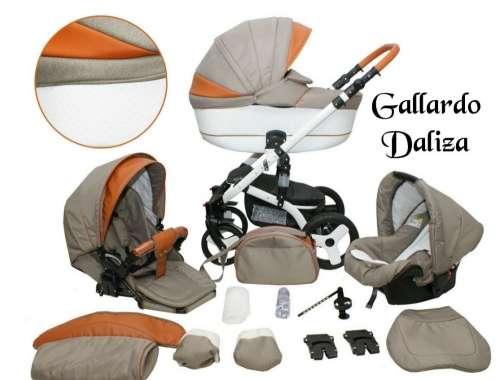 Gallardo Baby Daliza multifunkciós Babakocsi #bézs #barna ECO #bőr