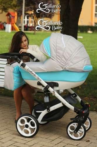 Gallardo Baby Next multifunkciós Babakocsi #világosszürke #világoskék