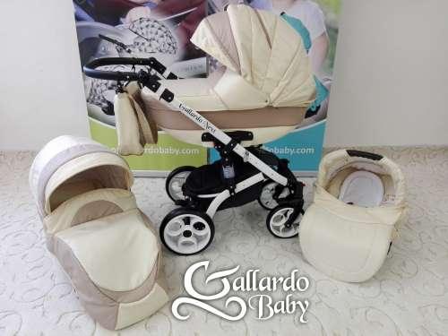 Gallardo Baby Next multifunkciós Babakocsi #bézs #cappucino