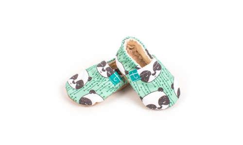 Funkidz Panda puhatalpú cipő 0-3 hó
