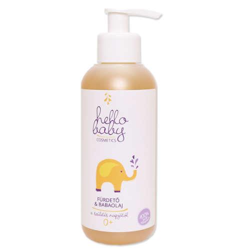 Fürdető & Babaolaj hello Baby cosmetics 250ml
