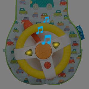 Taf Toys autós játékcenter Car Wheel Toy 30493665 Fejlesztő játék babáknak