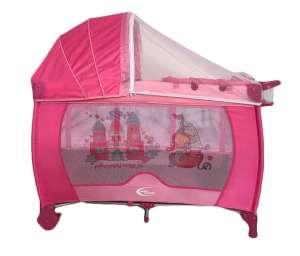 MamaKiddies VIP #pink (emelhető magasságú és ringatható) Utazóágy + Szúnyogháló + Ajándék 30233741