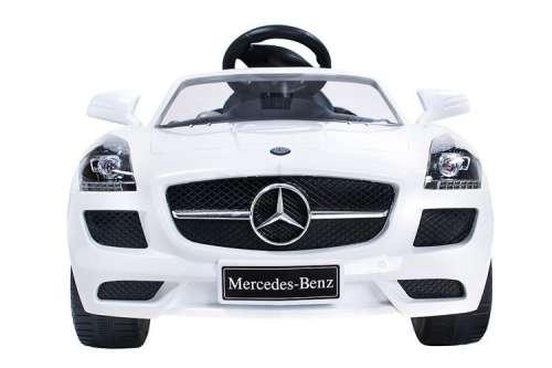 Mercedes-Benz #fehér elektromos autó távirányítóval