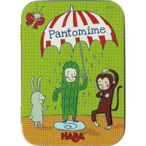 HABA Pantomim Kártyajáték  30233901 Társasjáték