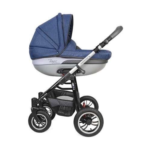 Dorjan Basic Comfort Leather VIP 3in1 multifunkciós Babakocsi  kék ... 54c3080220
