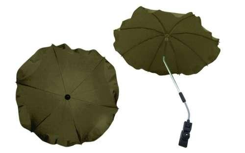 Univerzális napernyő Babakocsihoz - olivazöld