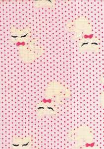 Textil pelenka 1db - Cica #rózsaszín 30306661