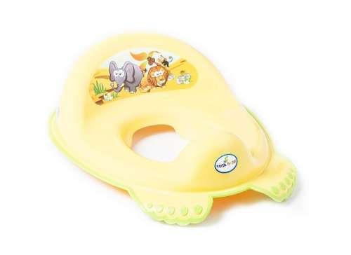 Tega Baby WC szűkítő #sárga szafari