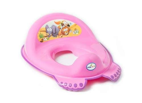 Tega Baby WC szűkítő #rózsaszín szafari