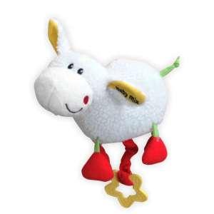 Baby Mix plüss Zenélő játék #fehér bárány 30308733