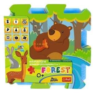 Trefl Szivacs puzzle 8db - Erdei állatok
