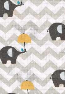 Textil pelenka 1db - Elefánt #szürke 30312446 Textil pelenka