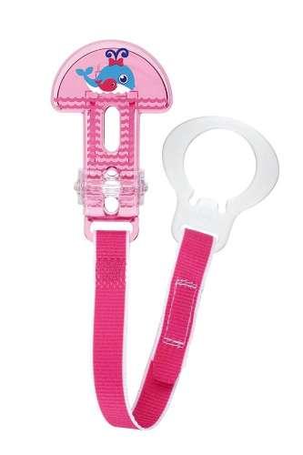 Mam Clip-it Cumitartó csipesz - Bálna#rózsaszín