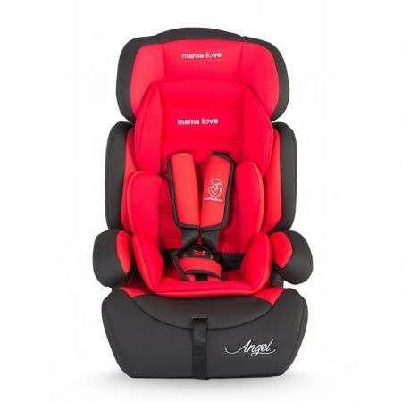 Mama Love Angel biztonsági Autósülés 9-36kg #fekete-piros