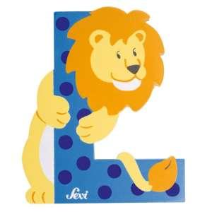 Sevi Fa betű állatos - L #kék 30313397