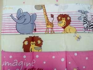 Zsebes tároló - Szafari #rózsaszín 30304713
