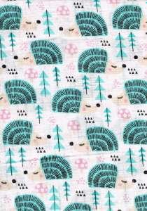 Textil pelenka 1db - Süni #türkiz-rózsaszín 30308569 Textil pelenka
