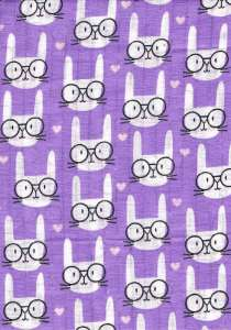 Textil pelenka 1db - Cica #lila 30309017