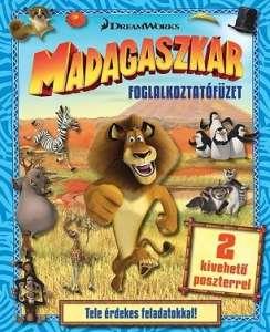 Madagaszkár - foglalkoztatófüzet 30309595 Foglalkoztató füzet, kifestő-színező