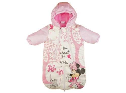 Disney Minnie bélelt vízlepergetős Bundazsák 68-74 rózsaszín-fehér ... ae2ddbb95a