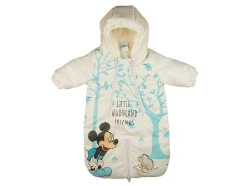 Disney Mickey vízlepergetős bélelt Bundazsák  kék-fehér  d32b5190e7