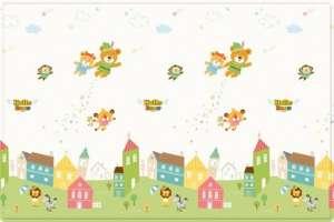 Parklon Sillky Játszószőnyeg - Neverland 150x200cm 30305158