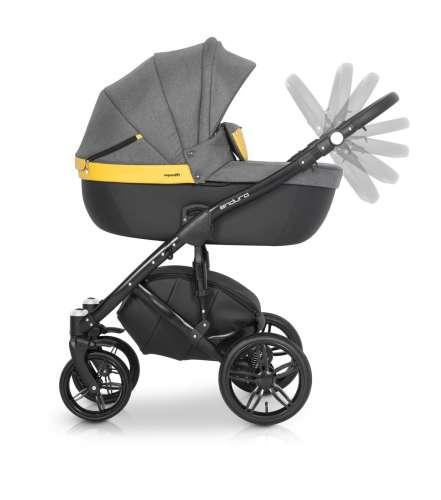 Expander Enduro 3in1 multifunkciós Babakocsi  sárga-szürke  1739eb4926