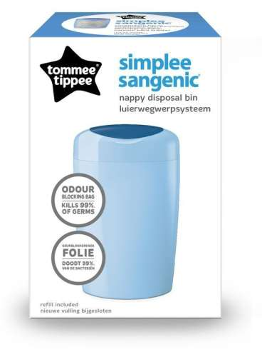Tommee Tippee Simplee Pelenkacsomagoló #kék