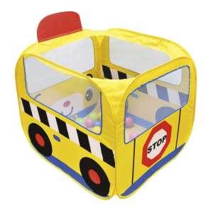 Ks Kids Iskolabusz játszósátor színes labdákkal 30310403