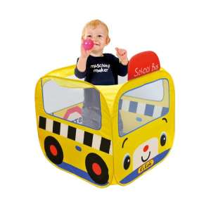 Ks Kids Iskolabusz játszósátor színes labdákkal 30310408 Fejlesztő játék babáknak