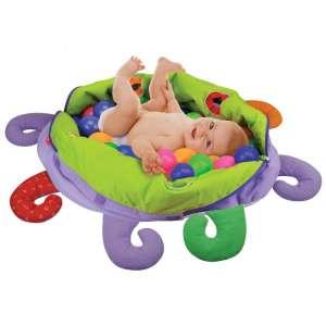 Ks Kids Polip plüss foglalkoztató 60 színes labdával 30312349